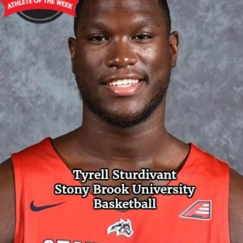 STUDENT-ATHLETE OF THE WEEK - TYRELL STURDIVANT