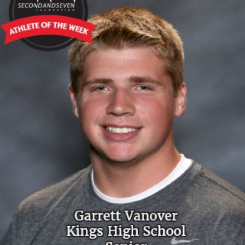 STUDENT-ATHLETE OF THE WEEK - GARRETT VANOVER