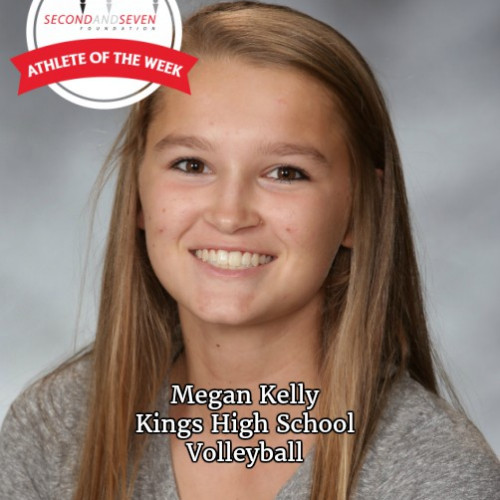STUDENT-ATHLETE OF THE WEEK - MEGAN KELLY