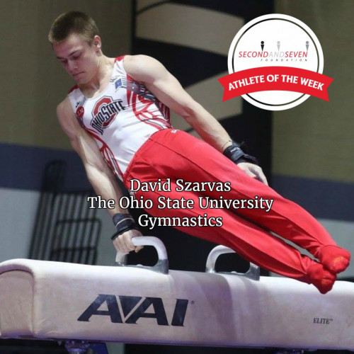 STUDENT-ATHLETE OF WEEK - DAVID SZARVAS