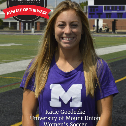 STUDENT-ATHLETE OF THE WEEK - KATIE GOEDECKE