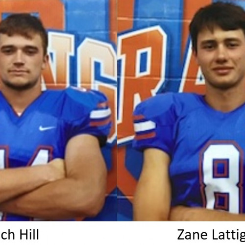 STUDENT-ATHLETES OF THE WEEK, ZACH HILL AND ZANE LATTIG