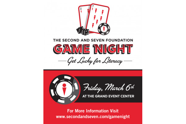The 2nd & 7 Foundation Game Night - Get Lucky for Literacy!